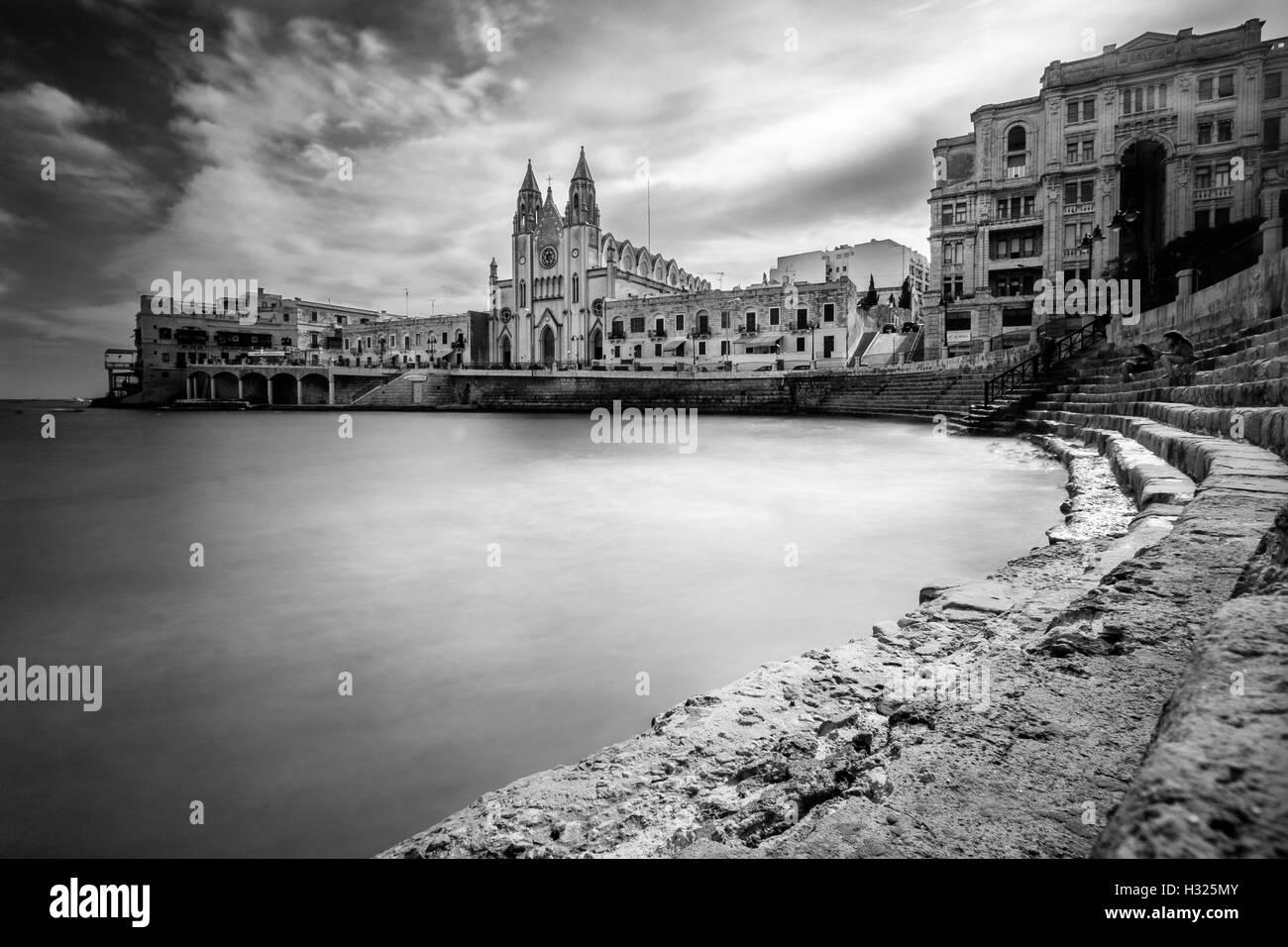 Une vue de Malte Banque D'Images