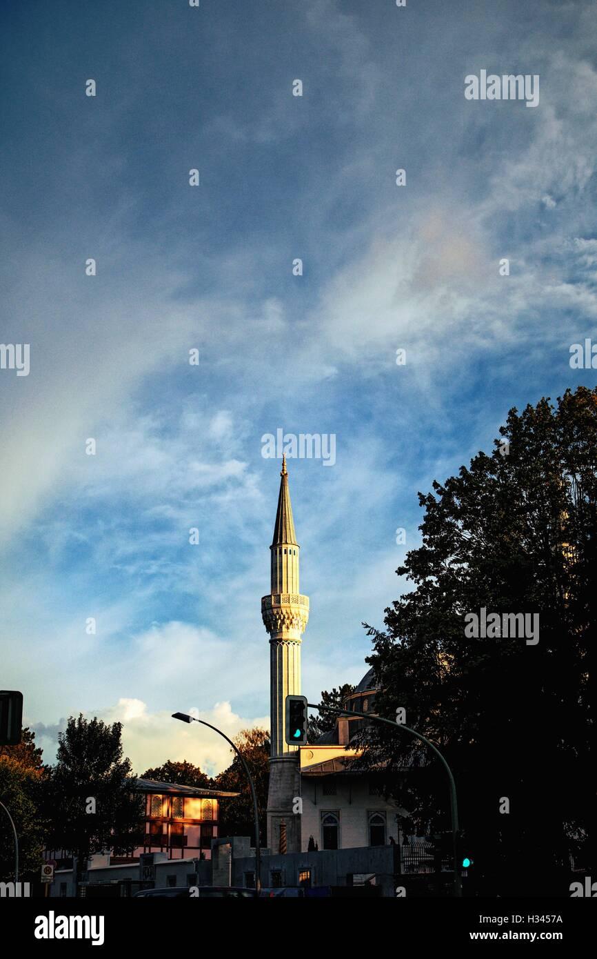 DITIB-Sehitlik Moschee, Columbiadamm 128, 10965 Berlin, Allemagne Banque D'Images