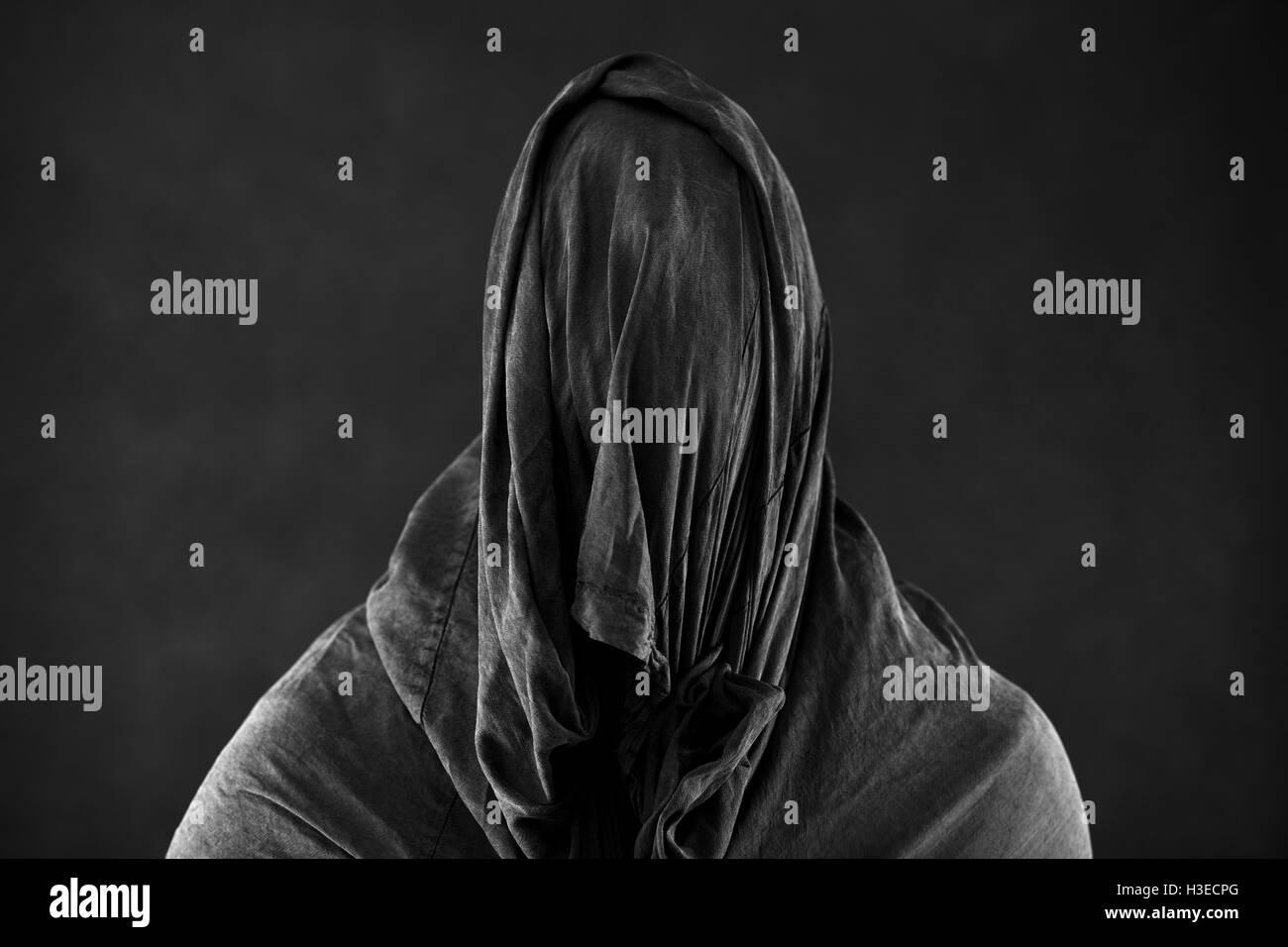 Ghost in the dark Photo Stock