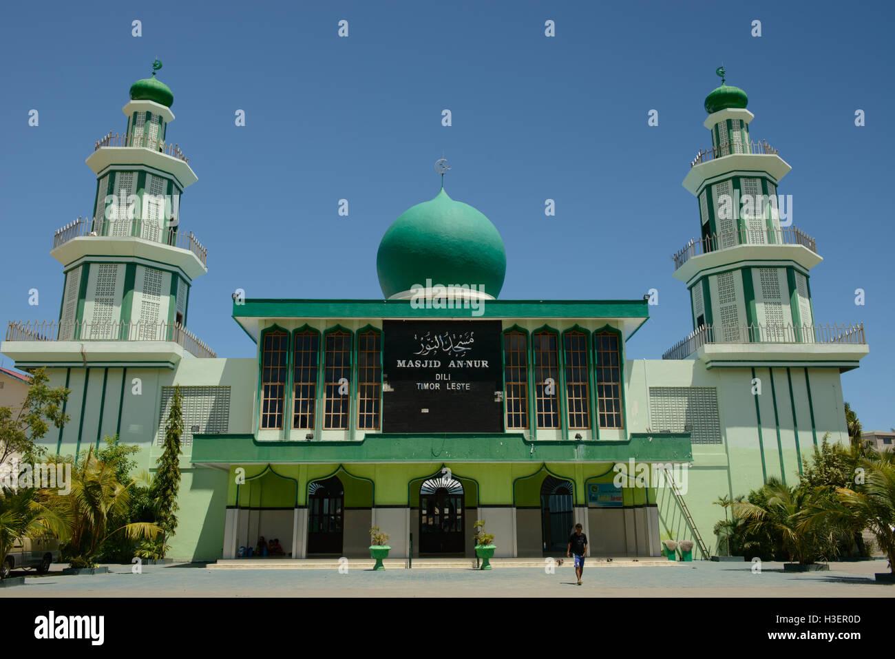 Une mosquée Nur, Dili, Timor Leste Banque D'Images
