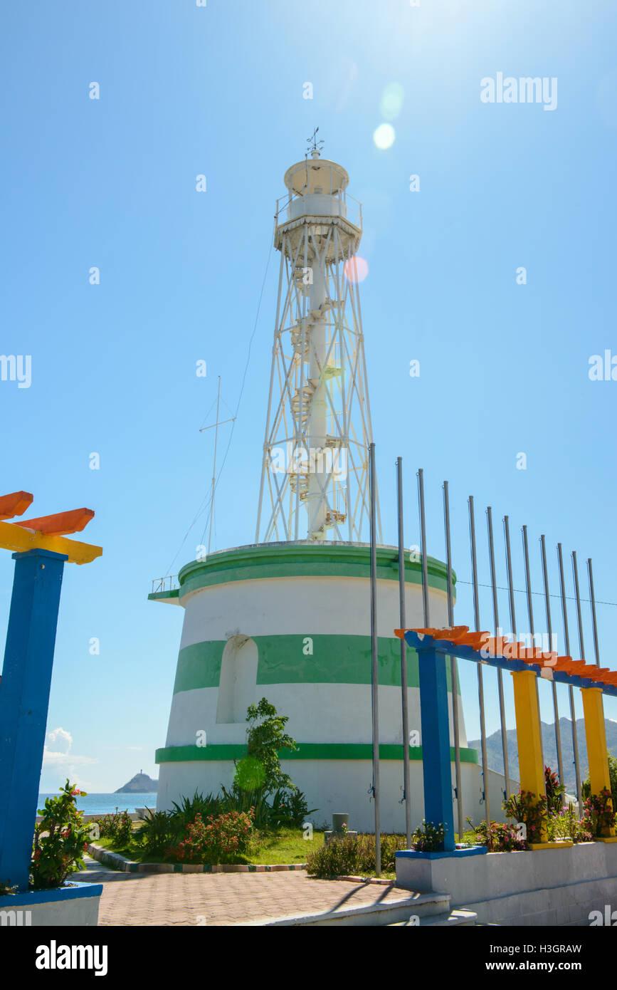 Leuchtturm à Dili, Timor Leste Banque D'Images
