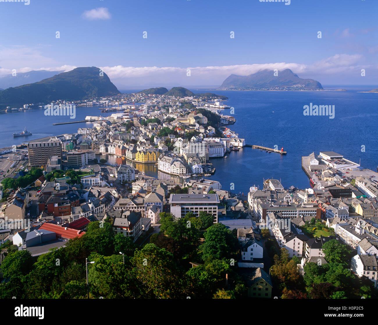 Allesund, More og Romsdal (Norvège) Photo Stock