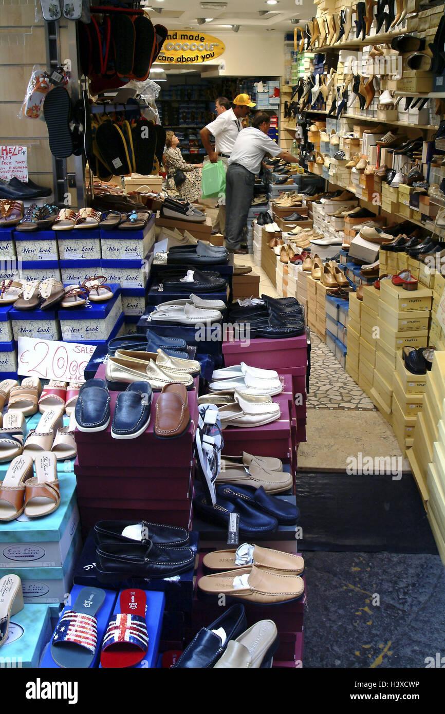 e86453f6f69fa9 L'Italie, la baie de Naples, Sorrente, magasin de chaussures, le client,  l'Europe, le Sud, l'Europe, péninsule, Sorrento, d'affaires, ventes,  chaussures, ...