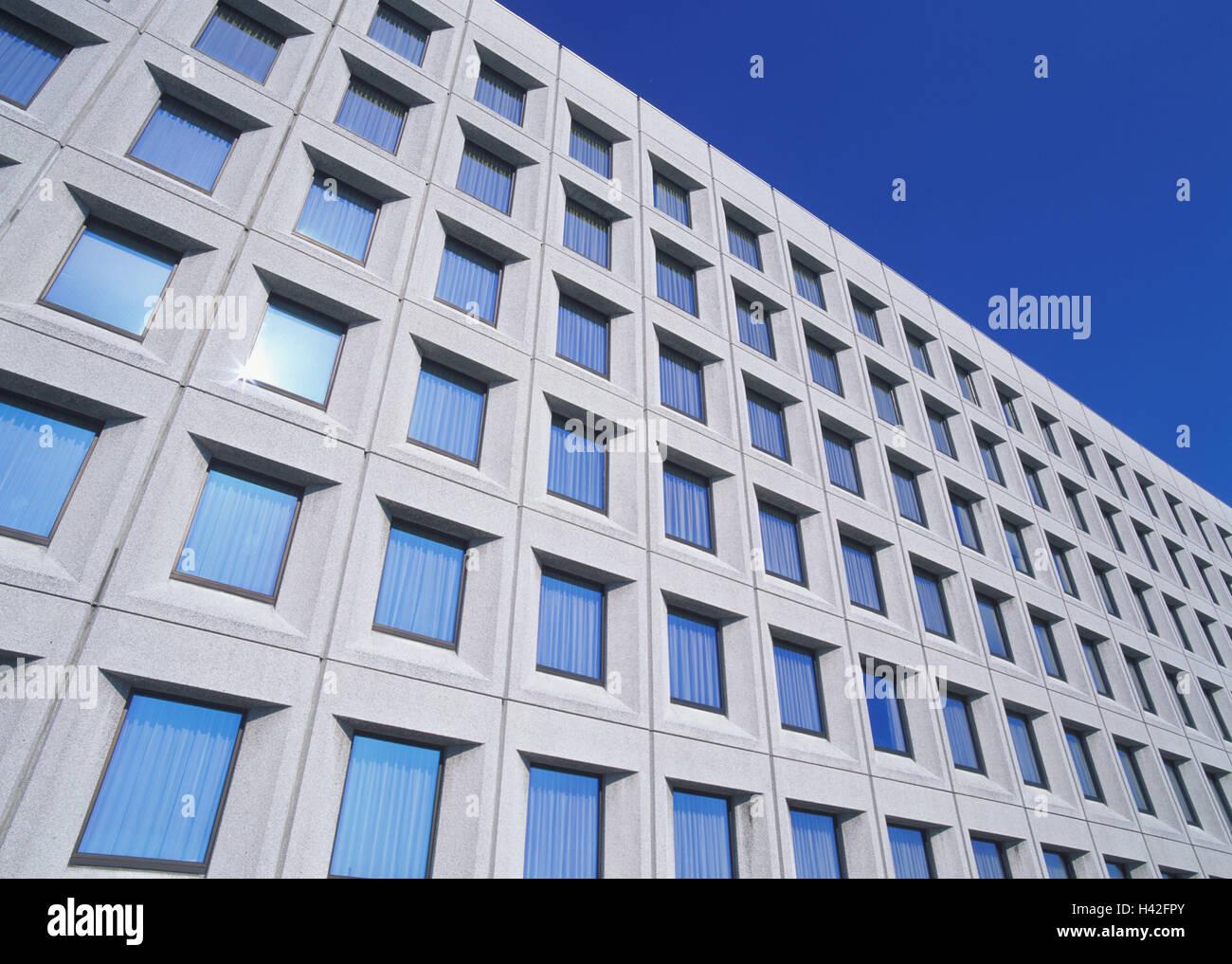 Les immeubles de bureaux façade fenêtre détail b timent mur