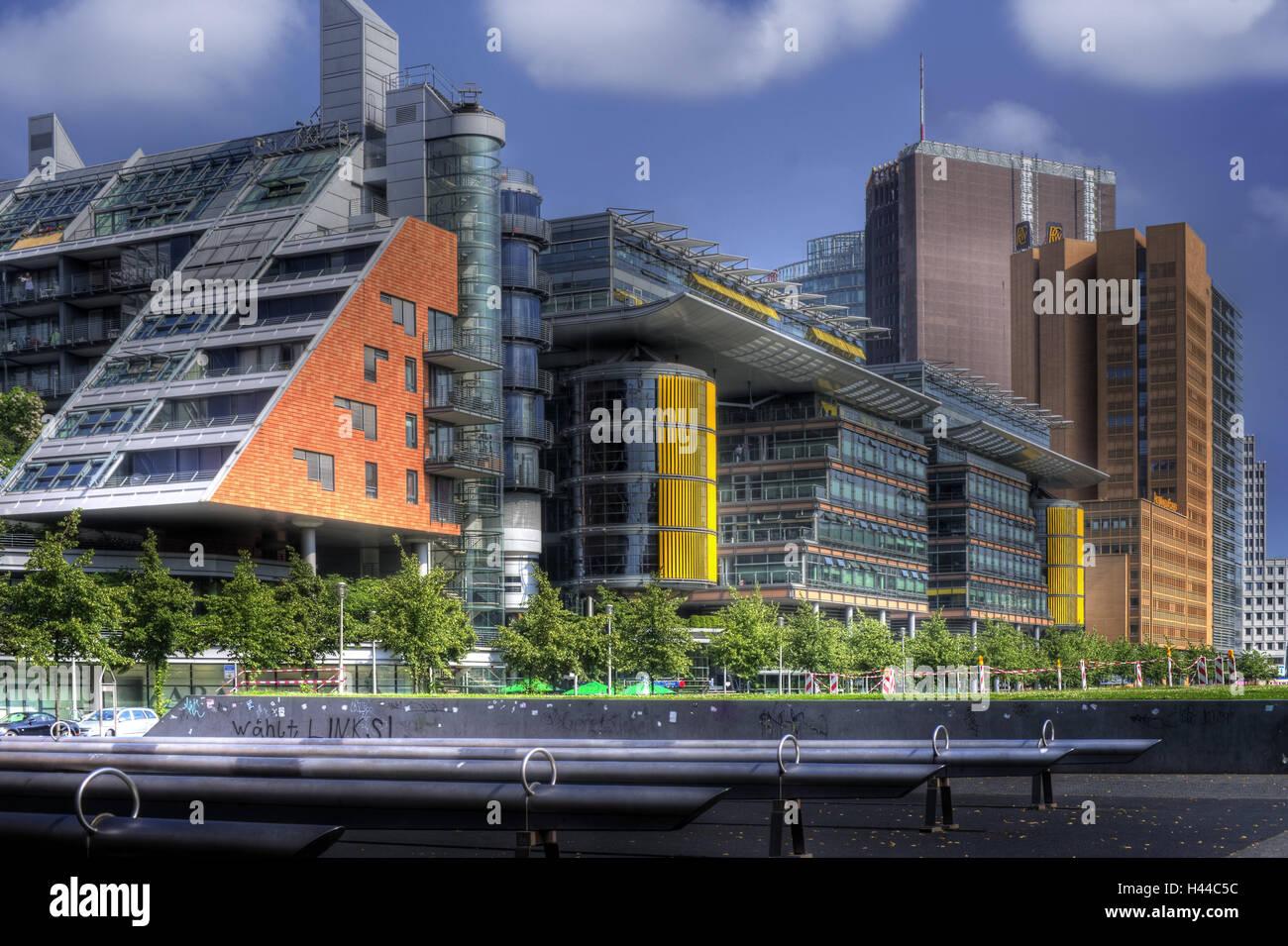 Immeuble de bureaux moderne d architecture à rotterdam image