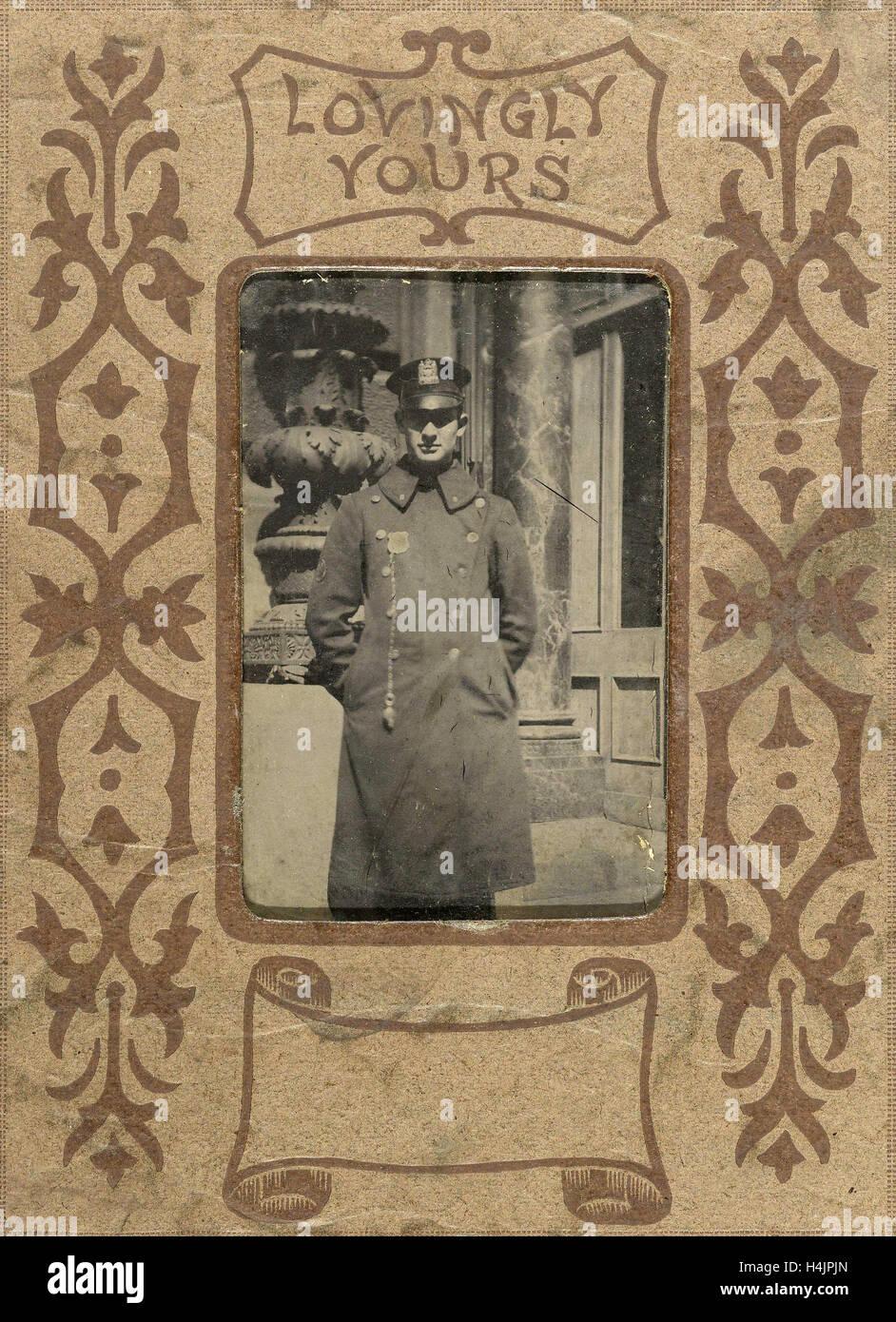 Amoureusement Vôtre, anonyme, c. 1900 - c. 1920 Photo Stock