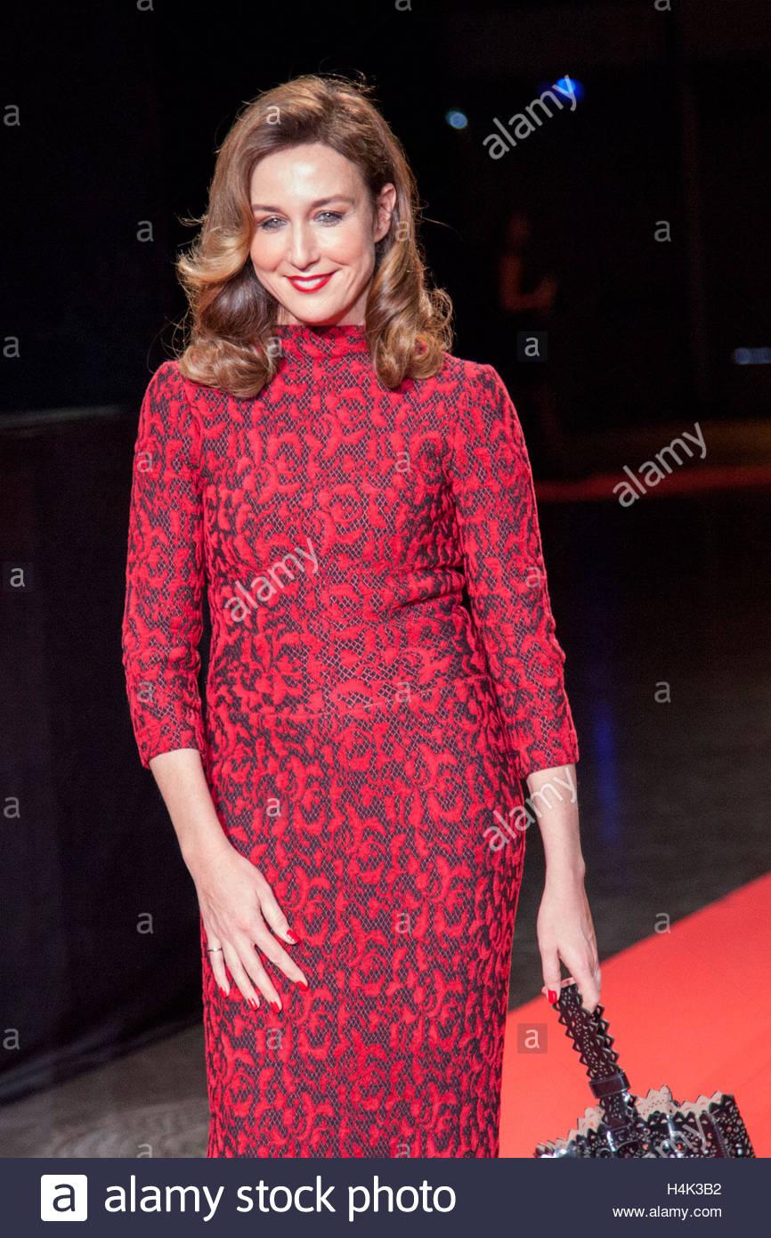Lyon France 8 Octobre 2016 L Actrice Francaise Elsa Zylberstein