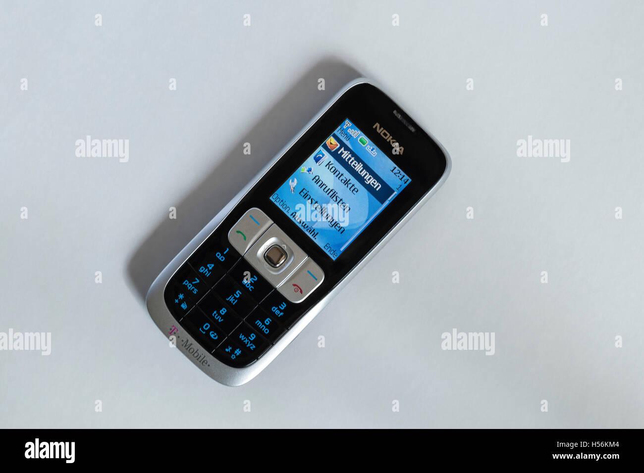 Téléphone mobile Nokia désuètes, Allemagne Photo Stock