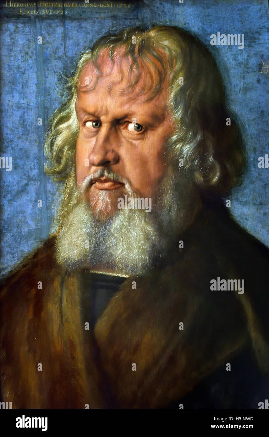 Hieronymus Holzschuher (1469-1529) Albrecht Dürer 1471 - 1528 Allemand Allemagne Allemand Allemagne Photo Stock