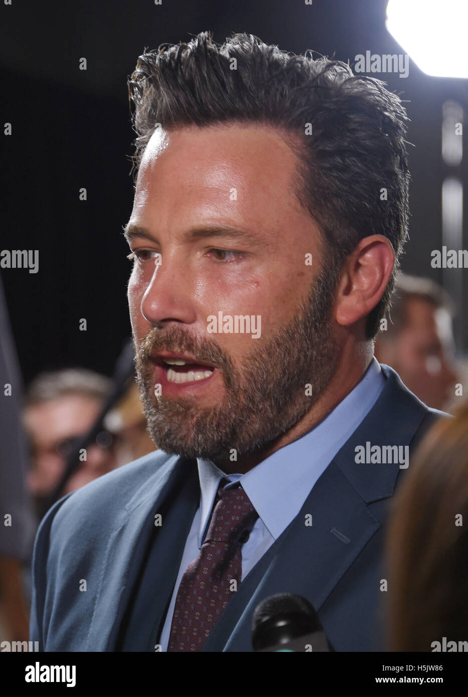 BEN AFFLECK en acteur de film nous Octobre 2016. Photo Jeffrey Mayer Photo Stock
