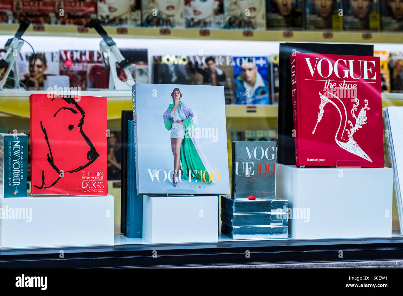 Maison Vogue, Hanover Square, Londres, Angleterre, Royaume-Uni Photo Stock