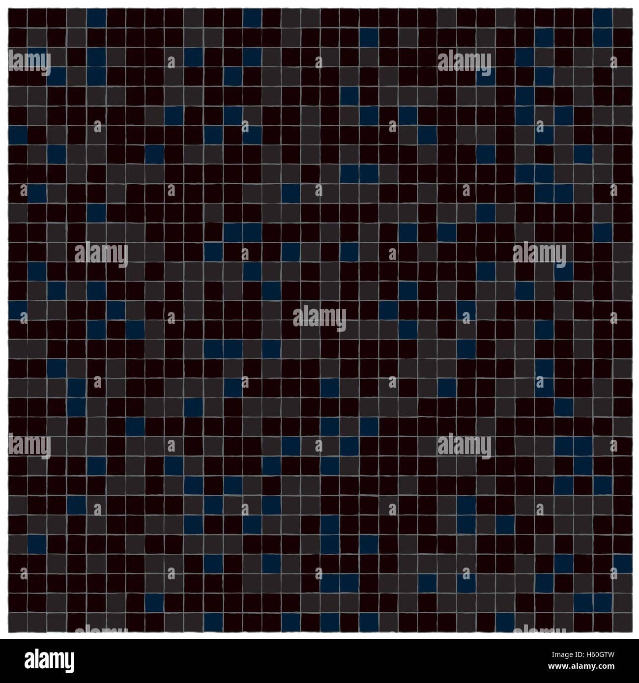 Les carreaux de céramique seamless texture inégale Photo Stock