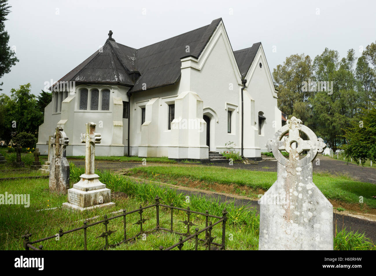 L'église Holy Trinity, Nuwara Eliya, Sri Lanka Banque D'Images