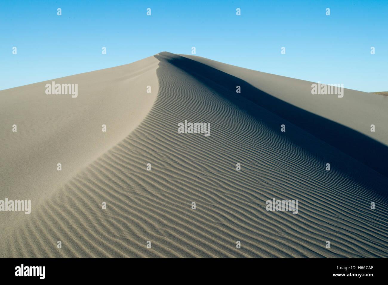 Dune de sable Bruneau Dunes State Park en Utah Valley Comté Photo Stock