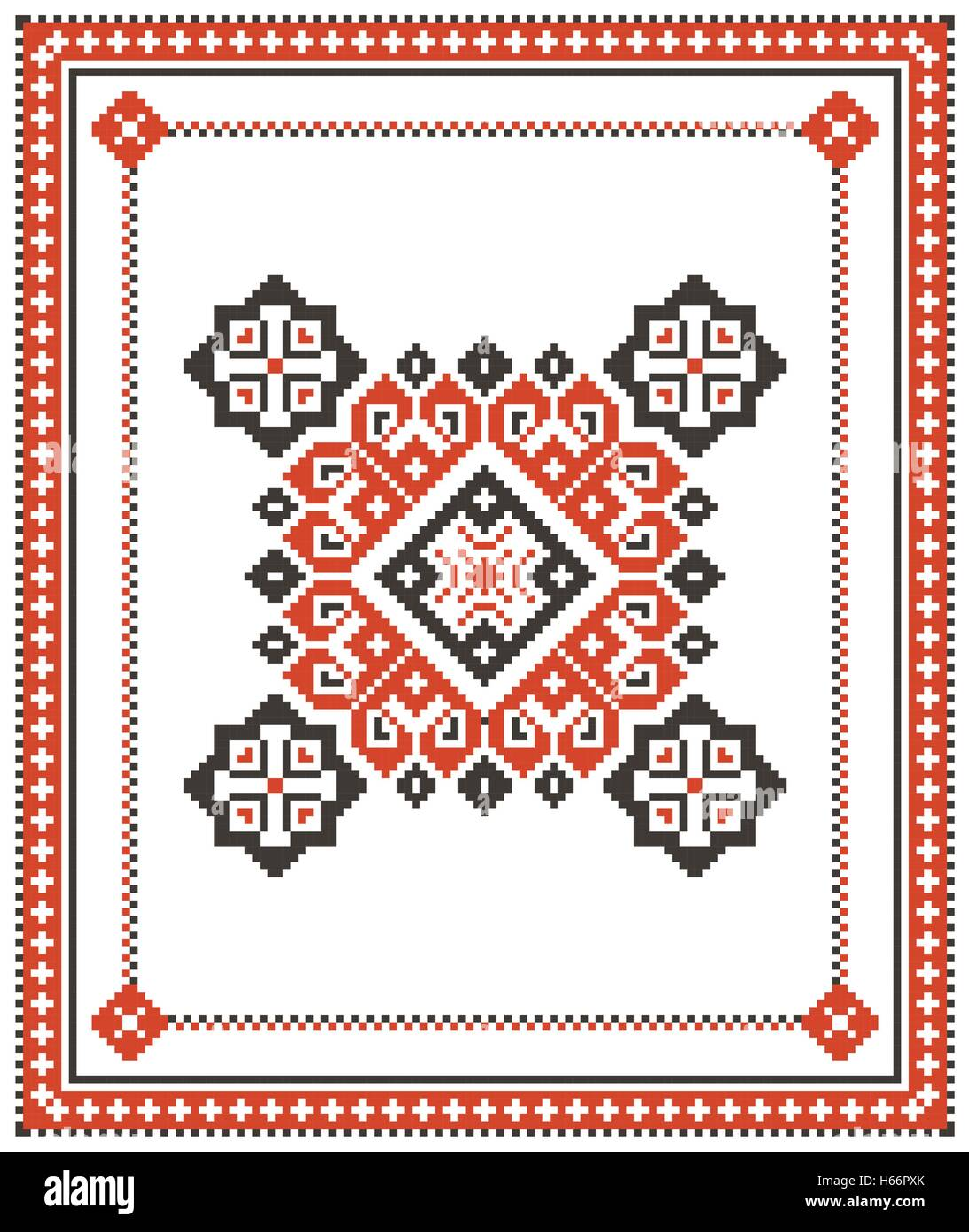Vector Traditional Ethnic Pattern From Photos Vector Traditional