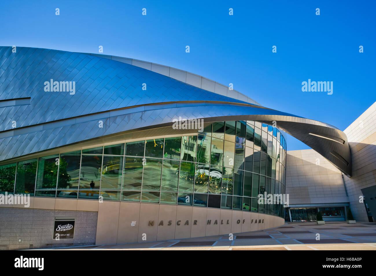 Nascar Hall of Fame, Charlotte, NC Banque D'Images