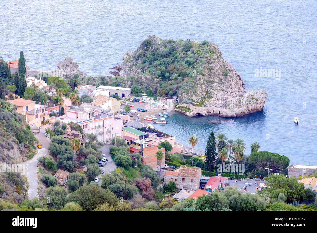 Taormina, Messine, Sicile, Italie Photo Stock