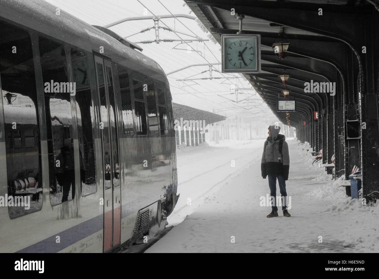 Homme recherche gare du nord
