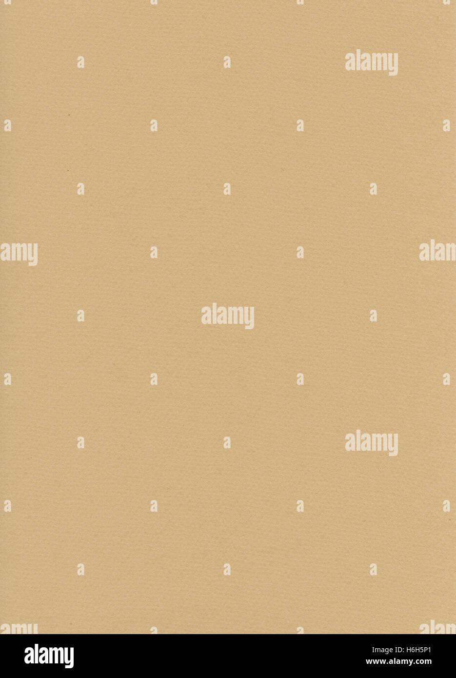 Numérisation haute résolution de papier fibre beige. Scanné à 1200dpi à l'aide d'un Photo Stock