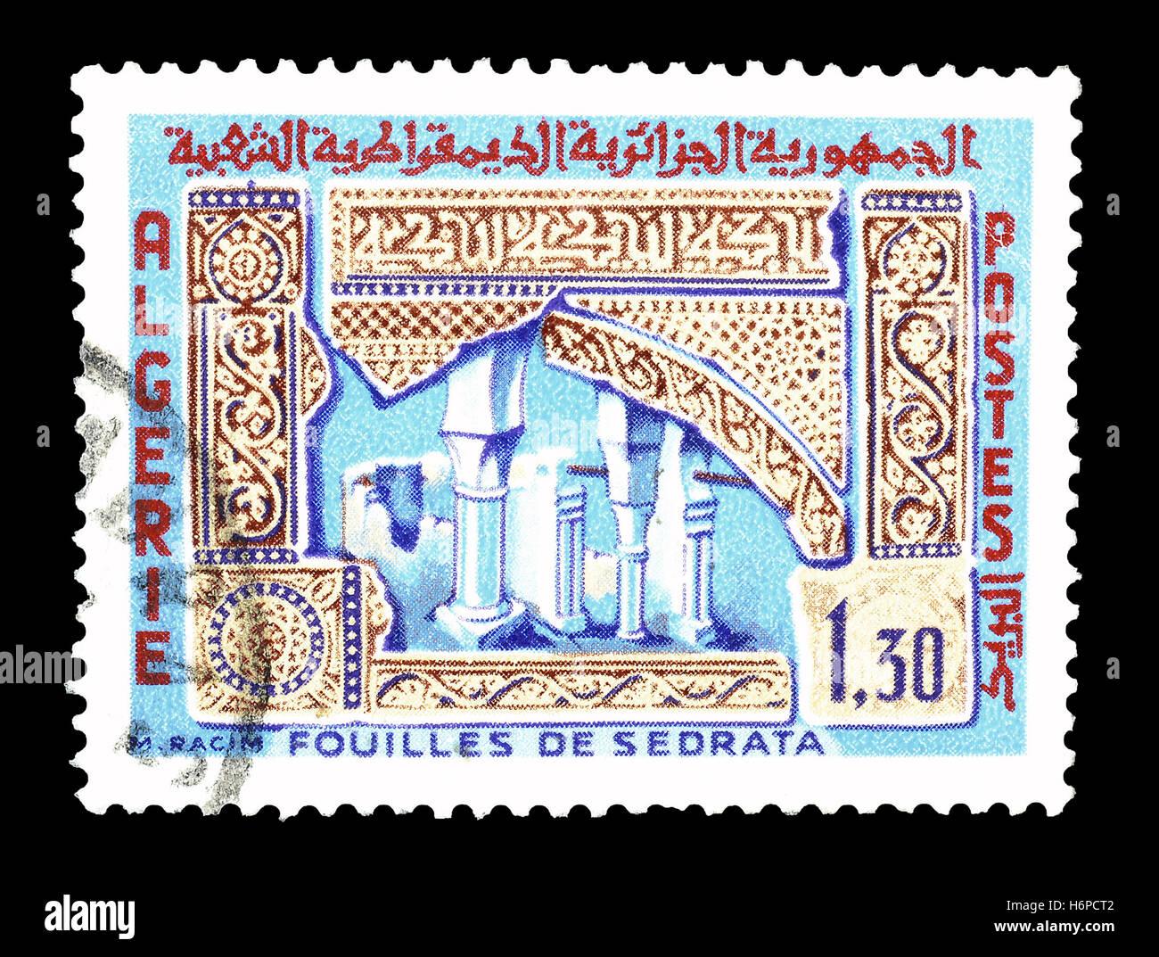 Timbres Algérie 1967 Photo Stock