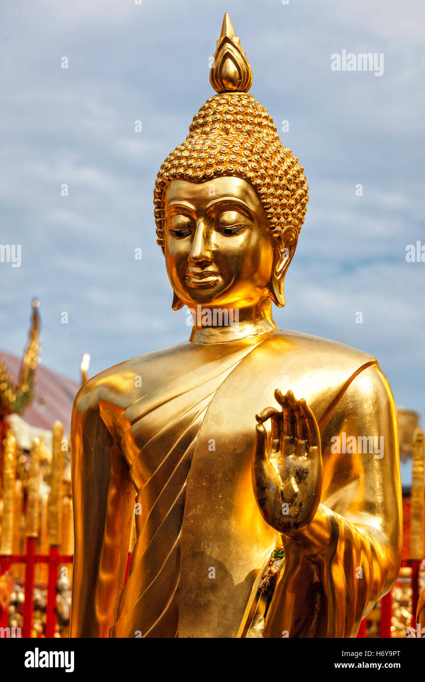 Statue de Bouddha, Thaïlande Photo Stock