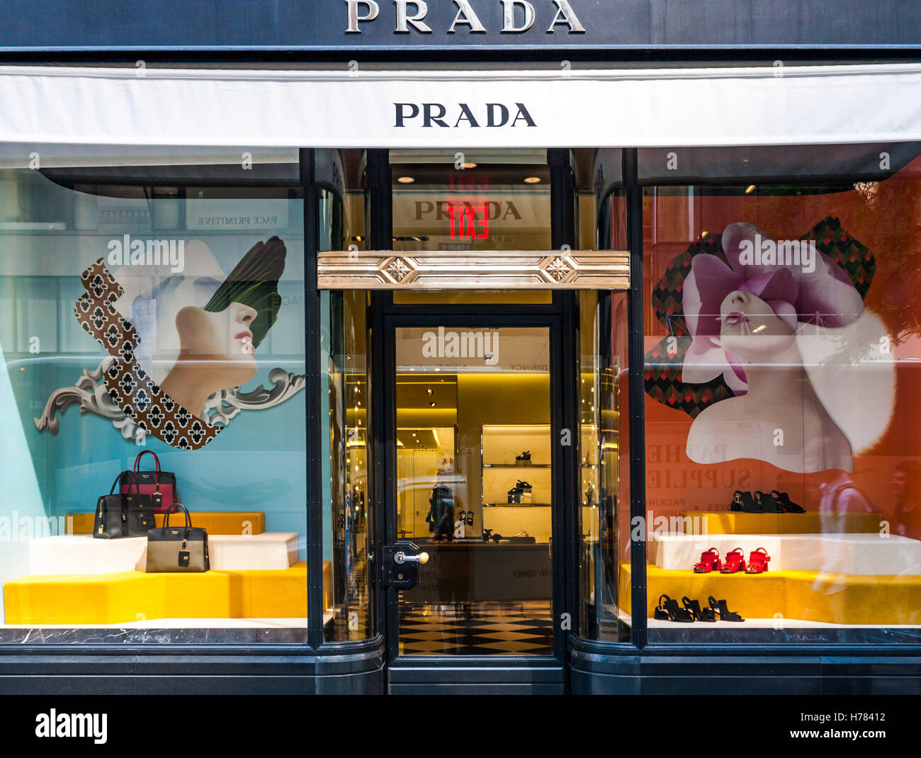 Prada Store New York Photos   Prada Store New York Images - Alamy acc9129b8f3