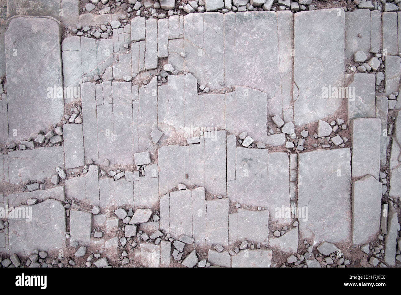 Roche pierre naturelle dans les Brecon Beacons au Pays de Galles UK Photo Stock