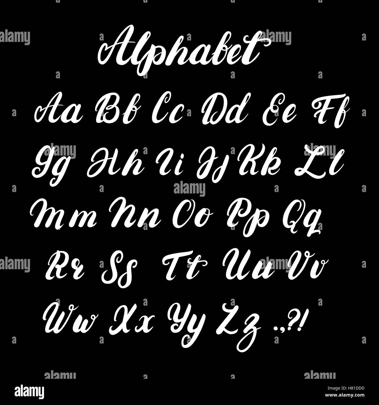 Lettre E Majuscule Calligraphie