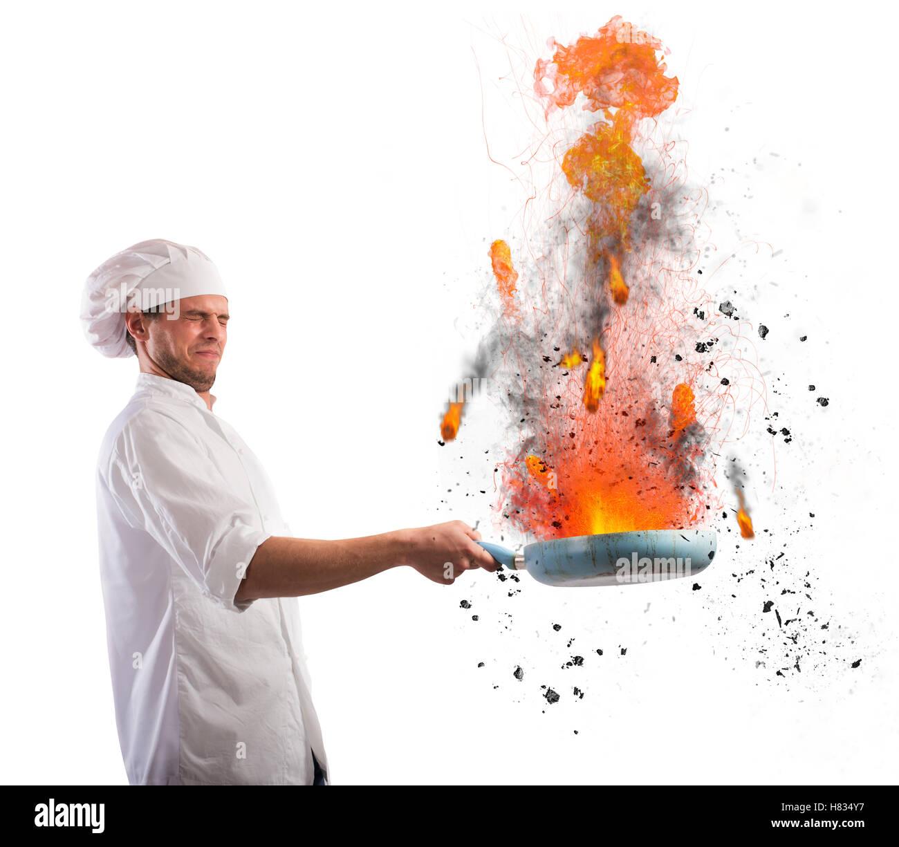 Fauteur de Cook Photo Stock