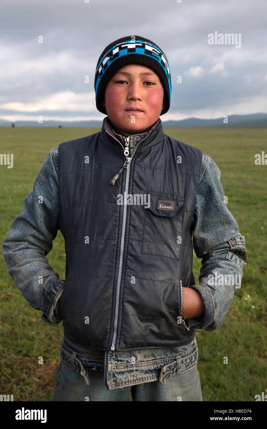 Kirghizistan - portrait de personnes - personnes Voyage Asie centrale - Route de la soie Photo Stock