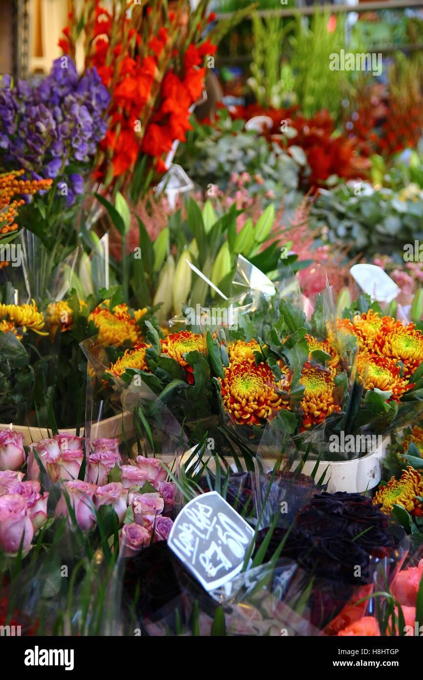 Le Columbia Road Flower Market 7/8 Photo Stock