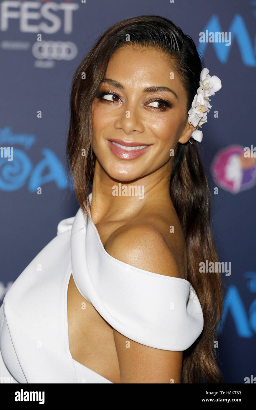 Hollywood, Californie, USA. 14 novembre, 2016. Hollywood, Etats-Unis. 14Th Nov, 2016. Nicole Scherzinger à Photo Stock