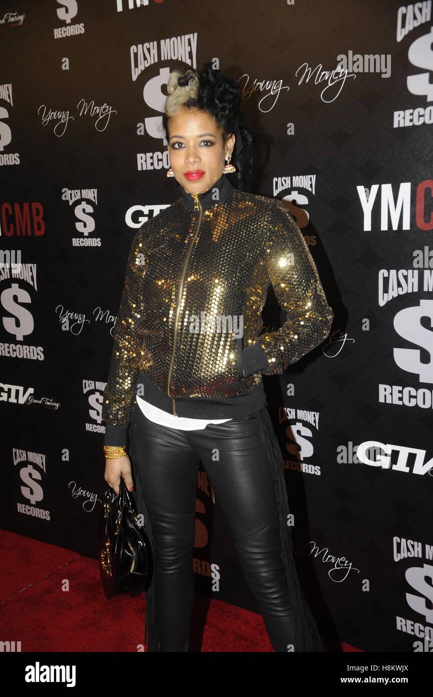 Kelis arrive au Cash Money Records 4e partie pré-GRAMMY Awards le 9 février 2013 à West Hollywood, Photo Stock