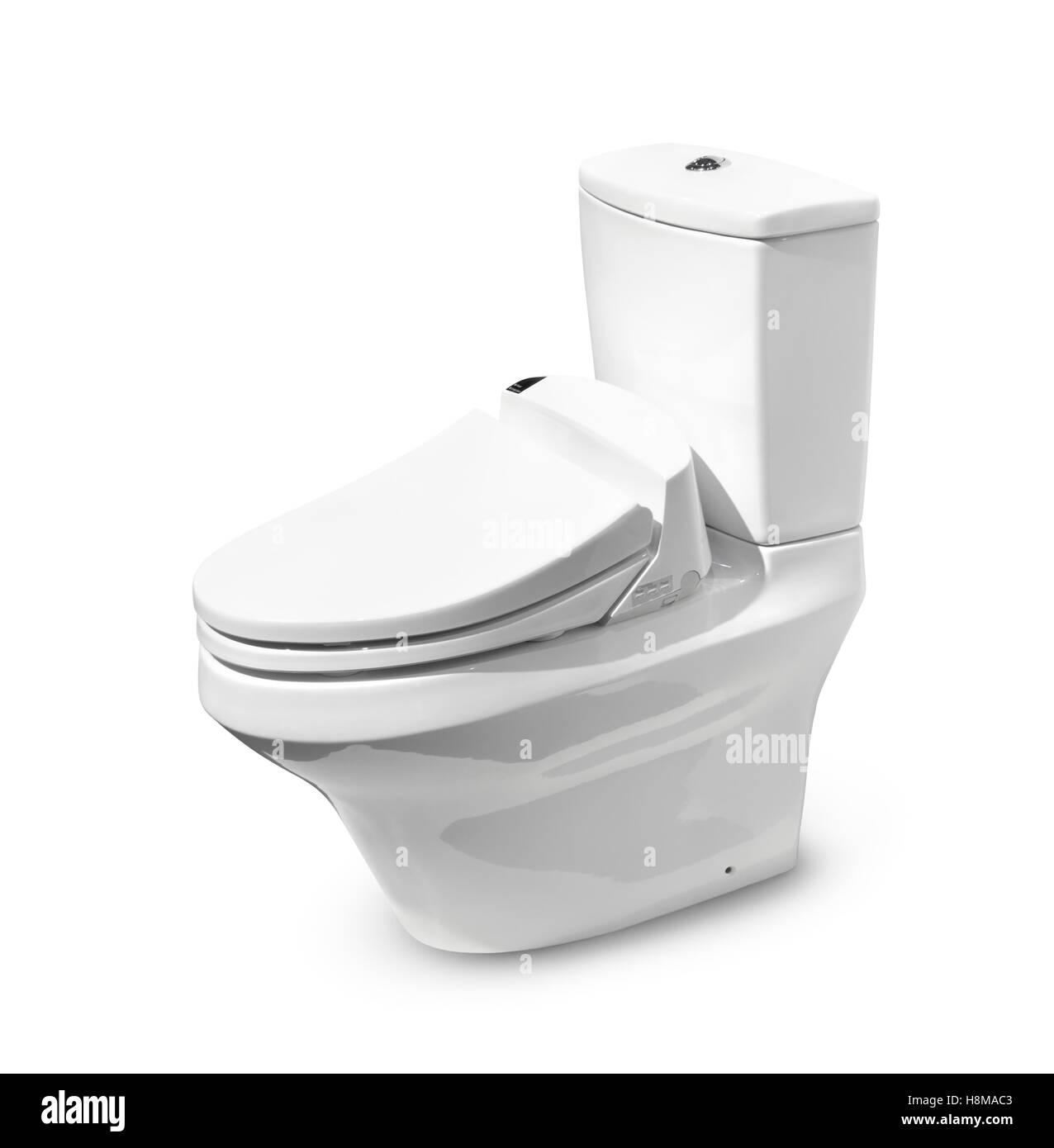 Toto toilettes high-tech avec Washlet seat Photo Stock