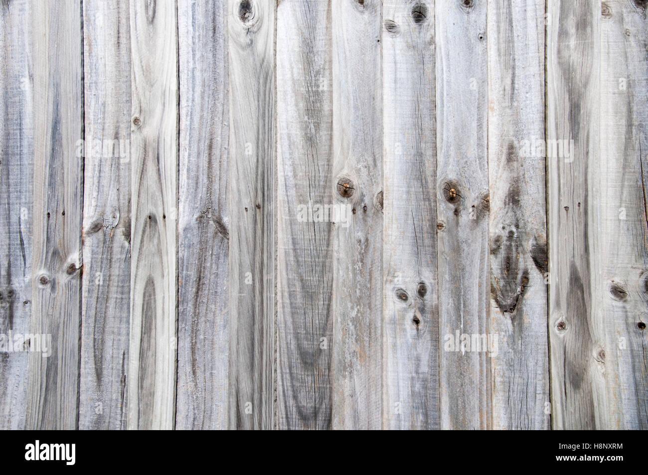 Palings clôture Weathered en banlieue de Melbourne Photo Stock