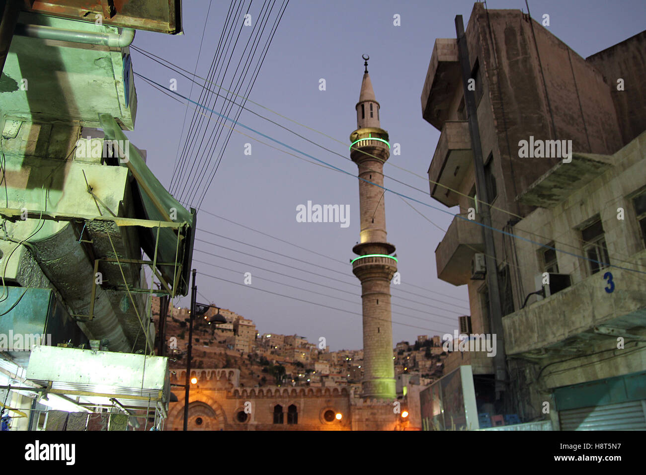 Capitale de la JORDANIE - Amman. Photo Stock