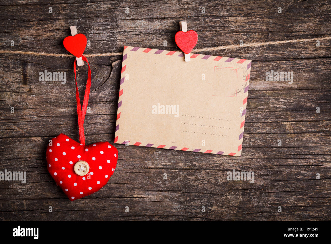 Le concept de la Saint-Valentin Photo Stock
