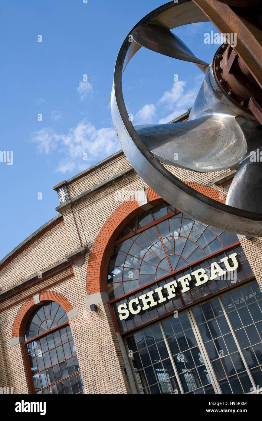 Hall de la construction navale, centre de théâtre, musique, gastronomie, Zurich, Suisse Photo Stock
