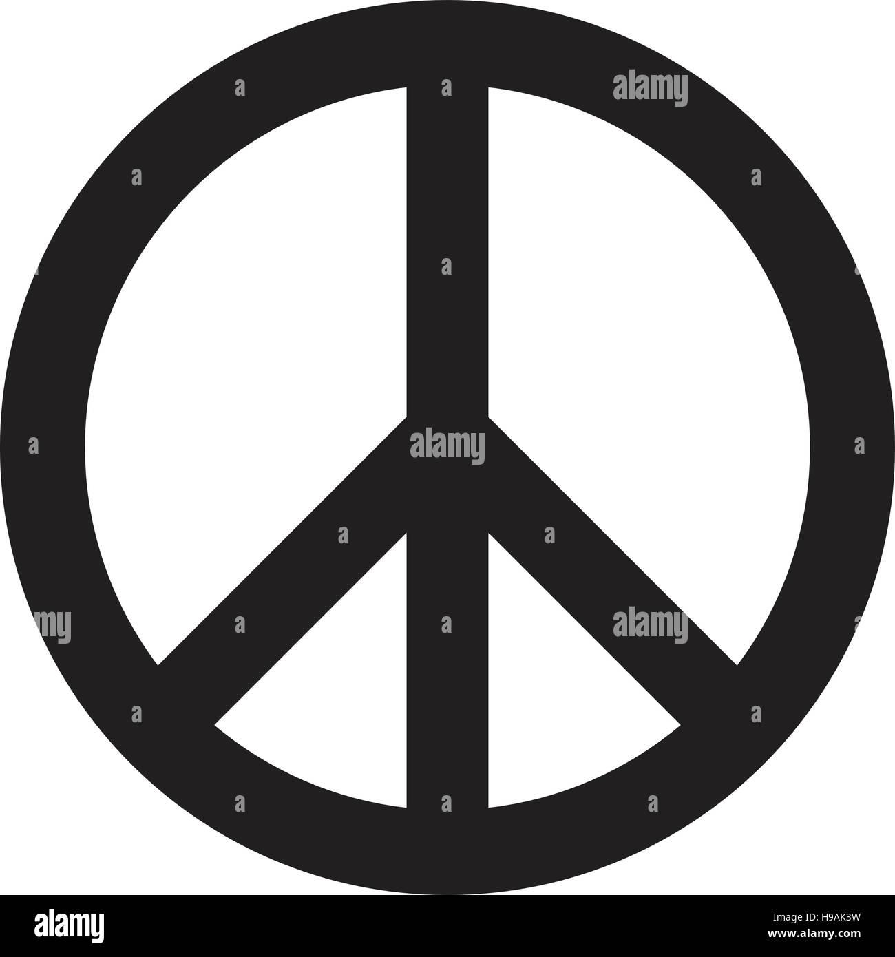 Symbole de la paix Photo Stock