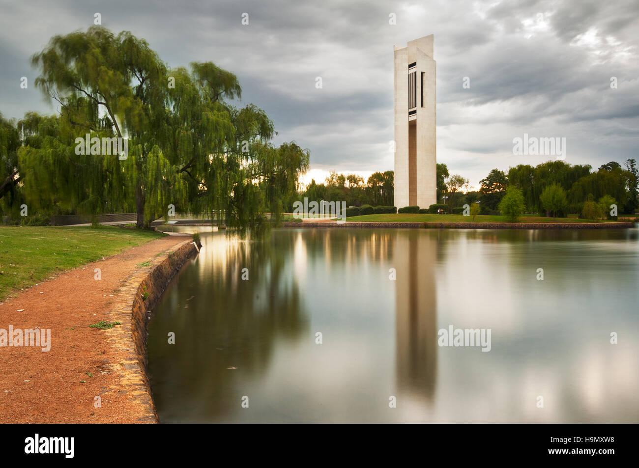 La National Carillion en Australie Canberra la capitale. Photo Stock
