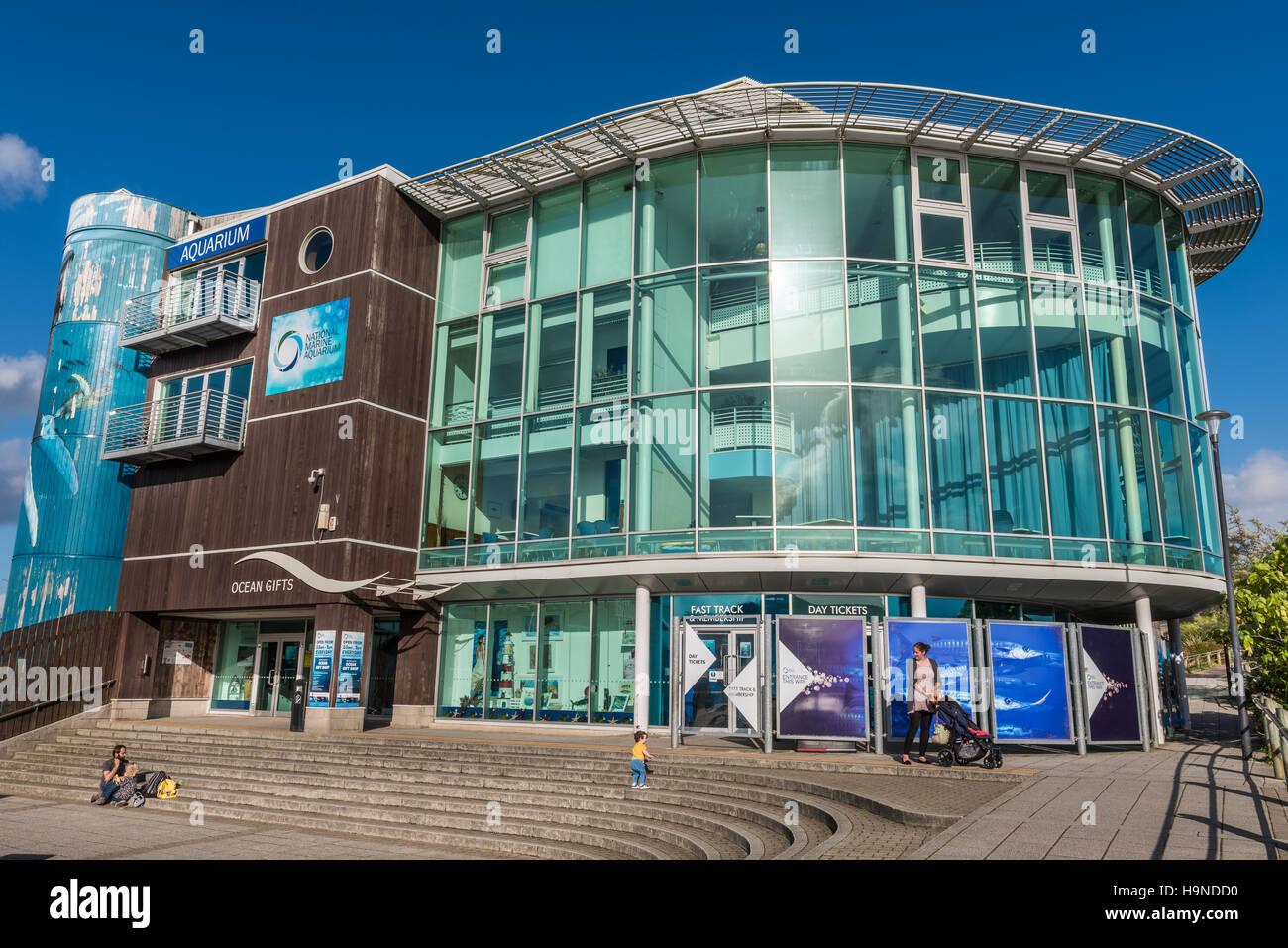 Le National Marine Aquarium Photo Stock