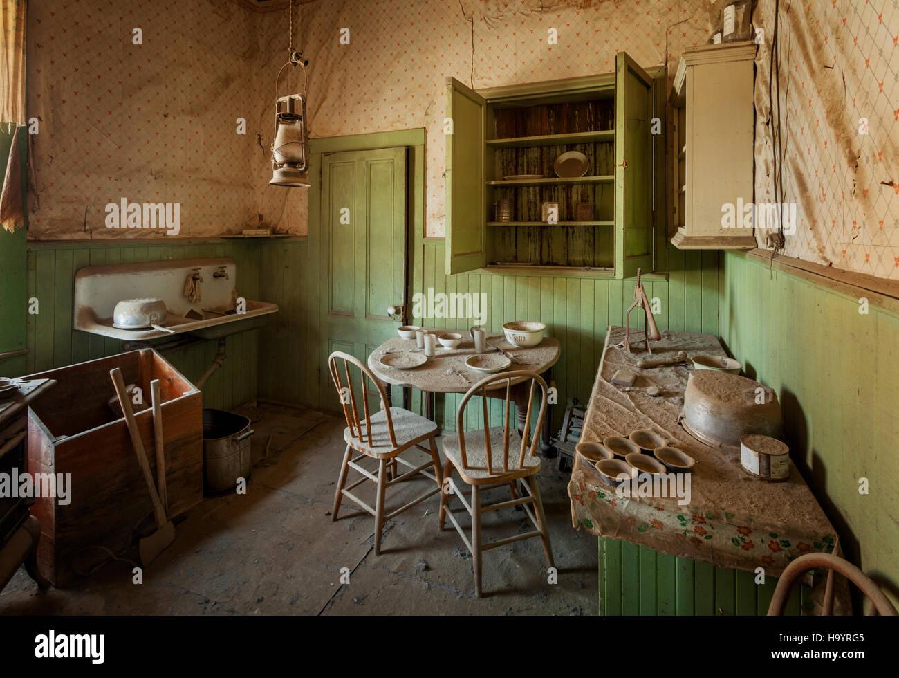 Tom Miller House Bodie Ghost Town. une ville fantôme principale attraction de Californie. Bodie est maintenu Photo Stock
