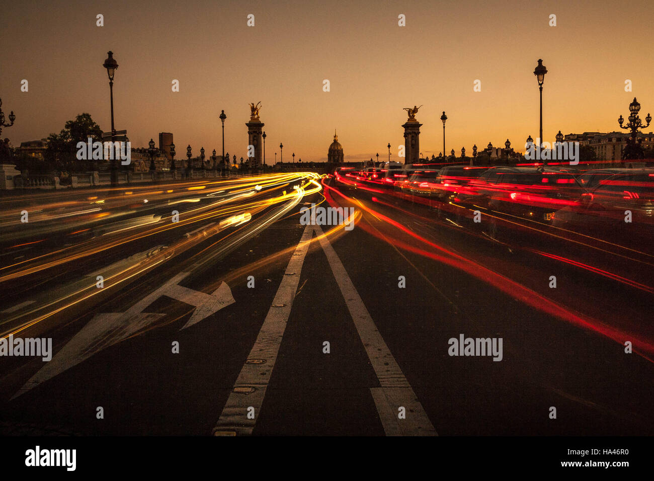Trafic parisien. Photo Stock