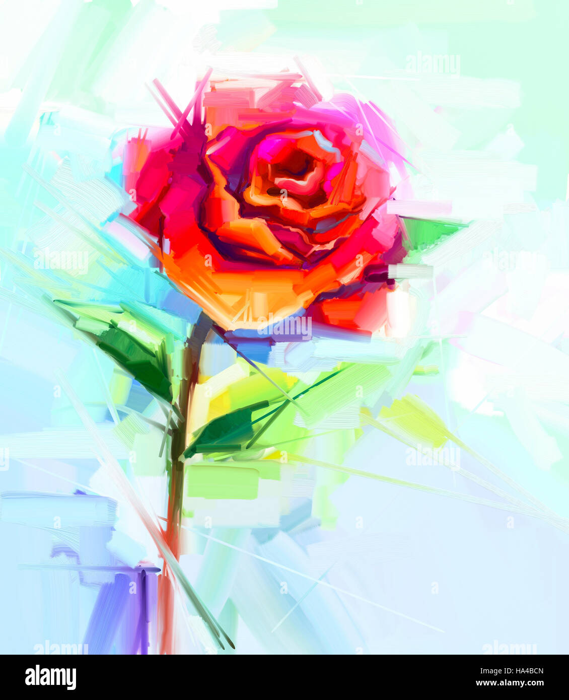 Resume La Peinture A L Huile De Fleur De Printemps Still Life De