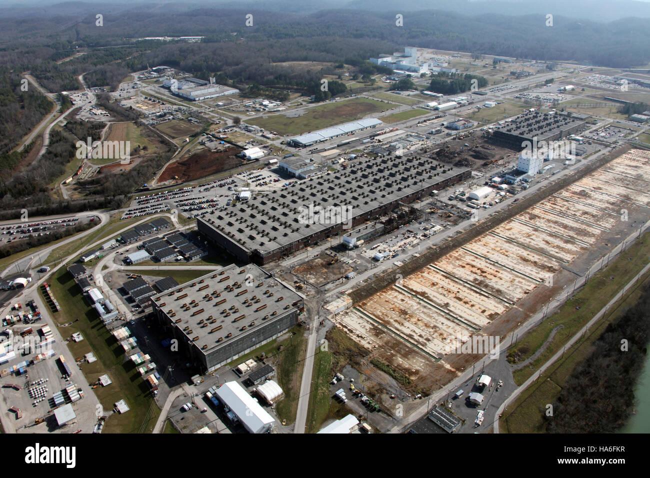 Departmentofenergy 7604690792 Oak Ridge dispose de grands projets pour 2012 Photo Stock
