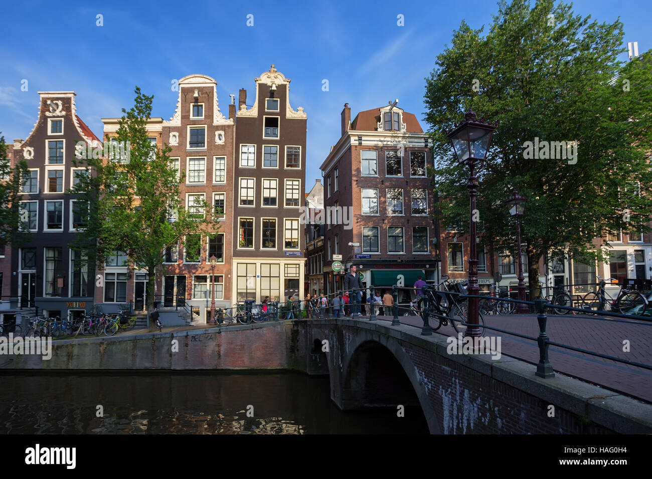 AMSTERDAM - CIRCA JUIN 2014 Photo Stock