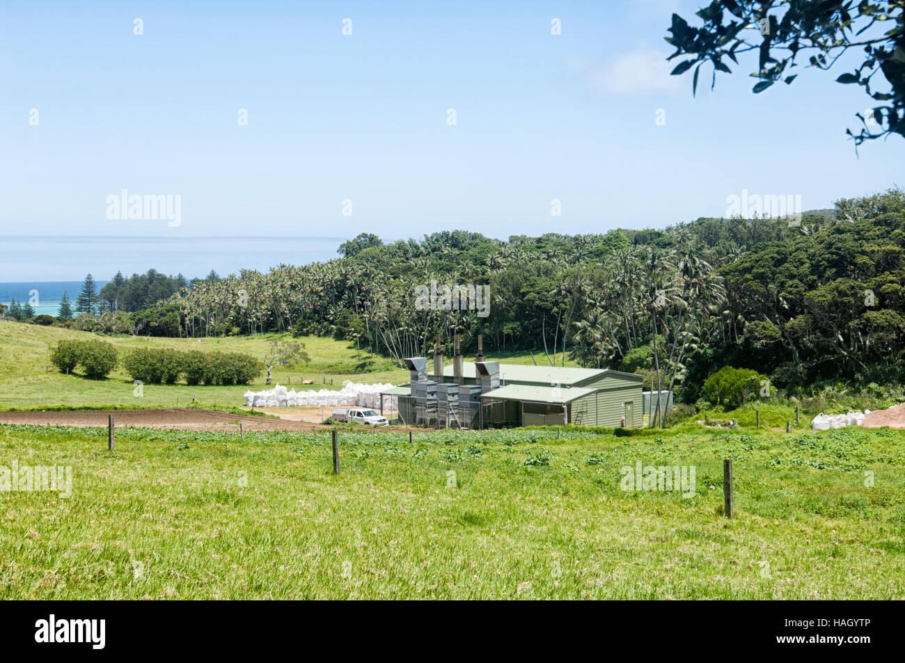 Générateur Diesel alimentant l ensemble de l île Lord Howe, New South Wales fca3e32c5647