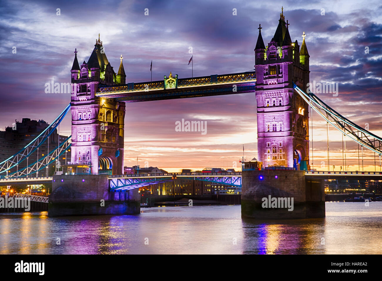 Tower Bridge, Londres, Angleterre, mardi 27 septembre, 2016.Photo : David Rowland / One-Image.com Photo Stock