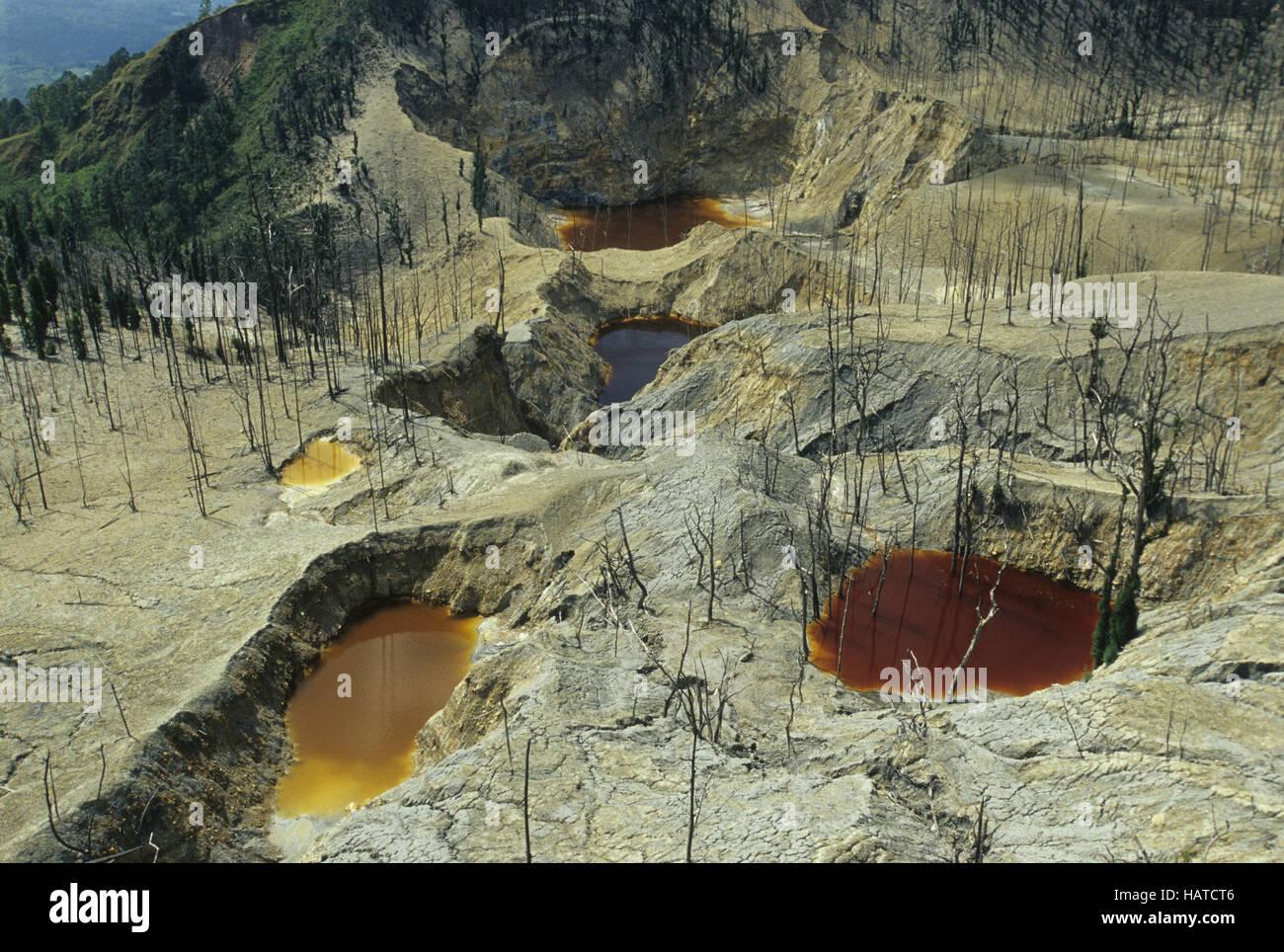 Volcan Banque D'Images