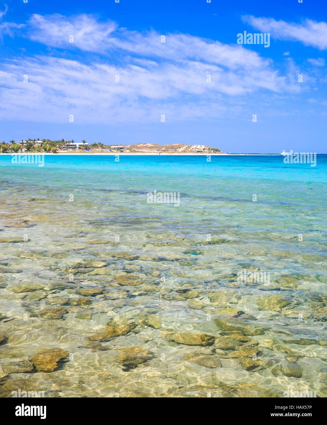 Coral Bay en Australie de l'Ouest Banque D'Images